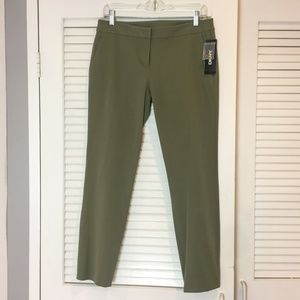 NWT $215 DKNY Tailored Pants Flat Front